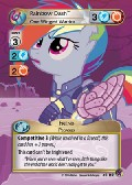 Rainbow Dash, One Winged Warrior aus dem Set Marks in Time Royal Rare