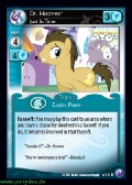 Dr. Hooves, Just in Time aus dem Set Canterlots Night Foil