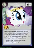 Rarity, Dressmaker aus dem Set Canterlots Night Foil