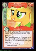 Applejack, Apple Vendor aus dem Set Canterlots Night Foil