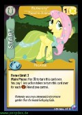 Fluttershy, Friend of Animals aus dem Set Canterlots Night Foil