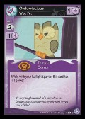 Owlowiscious, Wise Pet aus dem Set The Crystal Games Foil