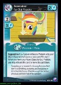 Scootaloo, Fan Club Founder aus dem Set Canterlots Night Foil
