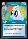 Rainbow Dash, Hanging Out aus dem Set Canterlots Night Foil