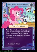 Rock, Paper, Scissors, Shoot! aus dem Set Canterlots Night Foil